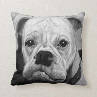 Throw Pillow - Boxer