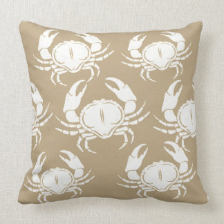 Throw Pillow-Crabs Cushion
