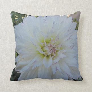 "Throw Pillow--""Crazy Love"" Dahlia Cushion"
