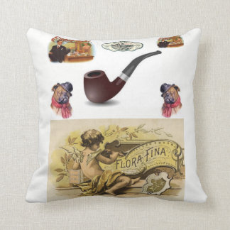 throw pillow decore cigar