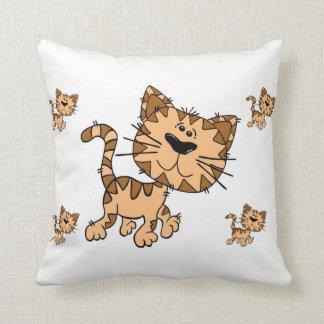 throw pillow decore kitty
