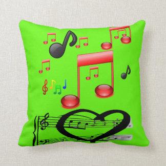 throw pillow decore music guitar