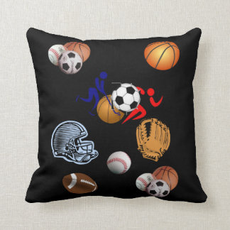 throw pillow decore sports football