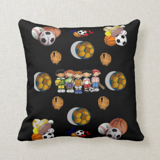 Throw Pillow Football