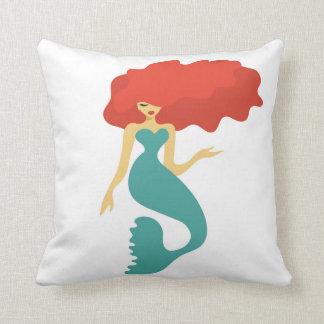 throw pillow mermaid, home decor, housewarming