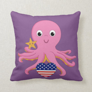 Throw Pillow Octopus For A Preemie US