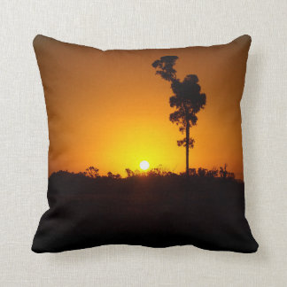 Throw pillow - outback sunset