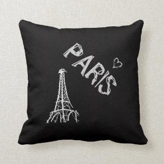 Throw pillow : PARIS