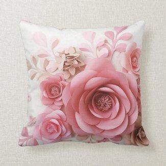 Throw Pillow Rosas Delicadas!!