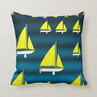 Throw Pillow Sailboat