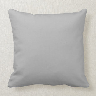Throw Pillow Solid Grey OP1022