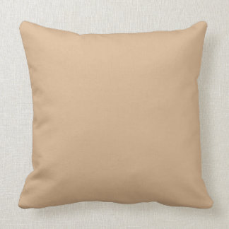 Throw Pillow Solid Tan OP1018