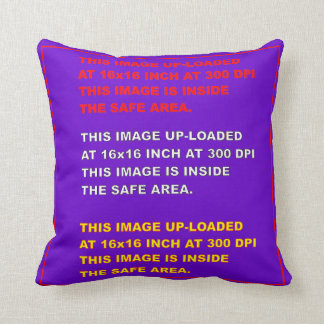 "Throw Pillow Template 20""X20"" View Hints Please Cushion"
