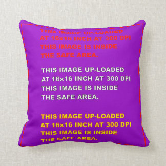"""Throw Pillow Template 20""""X20"""" View Hints Please"""