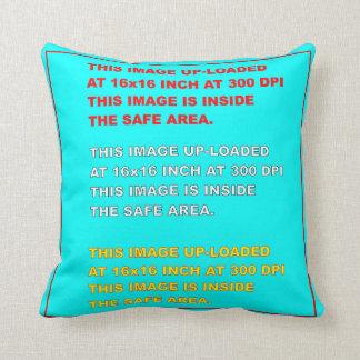 "Throw Pillow Template 20""X20"" View Hints Please Throw Cushions"