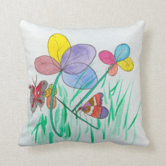 Throw pillow with abstract design throw cushion