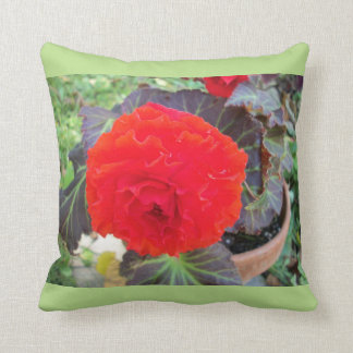 Throw pillow with flower design throw cushions