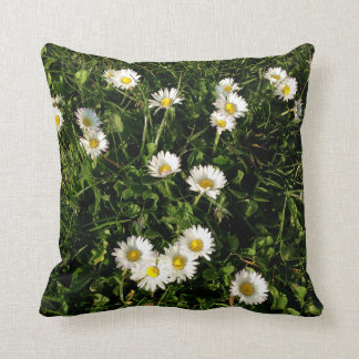 Throw Pillow with wild flowers  picture Throw Cushions