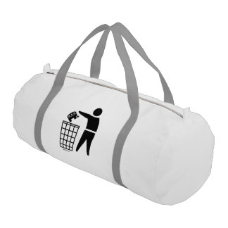 THROW REPUBLICANS OUT OF OFFICE GYM DUFFEL BAG