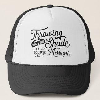Throwing Shade in Missouri Solar Eclipse Trucker Hat