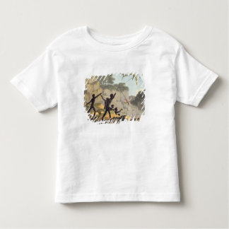 Throwing the Spear, aborigines hunting birds from Toddler T-Shirt