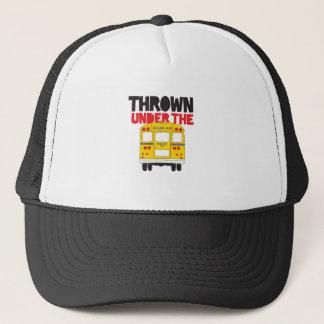 Thrown Under The Bus Trucker Hat