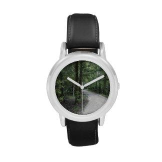 Thru the Florida Woods Wristwatch