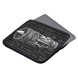 Thrust matters! laptop sleeve