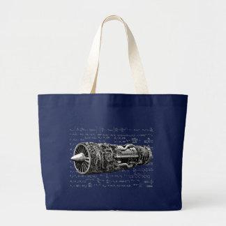 Thrust matters! large tote bag