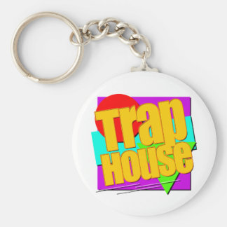 THSquareLogo-5000.png Basic Round Button Key Ring