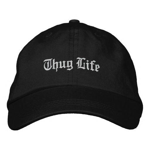 Thug Life Embroidered Hat