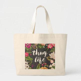 Thug life jumbo tote bag