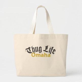 Thug Life Omaha Jumbo Tote Bag