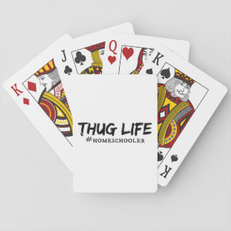 Thug Life playing cards