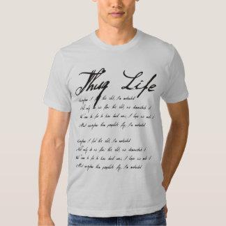 Thug life tshirt