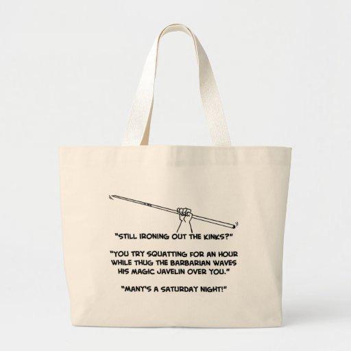 Thug the Barbarian Bags