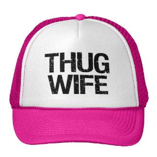 Thug Wife funny Cap