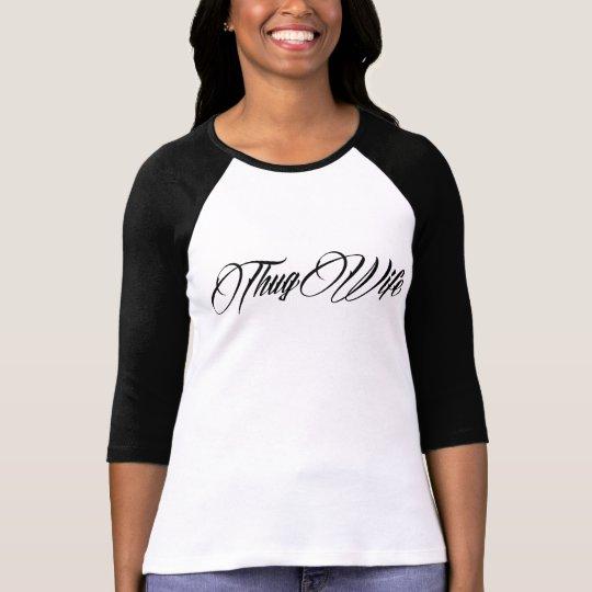 THUG WIFE Women's Ragland T-Shirt