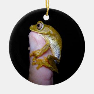 Thumb Hug Christmas Ornament