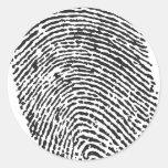 Thumb Print Sticker