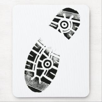 Thumb Prints Foot Art Shoe Sole Mouse Pad