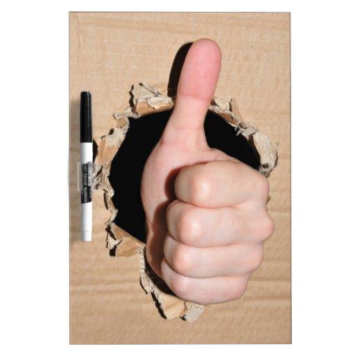 Thumb up Dry-Erase whiteboard