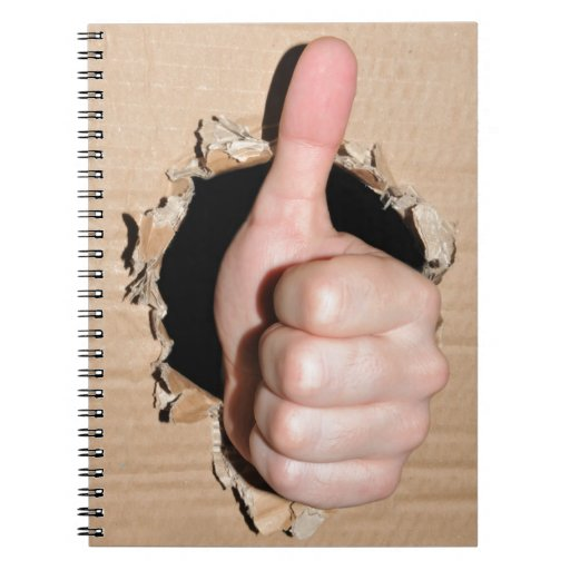 Thumb up note books