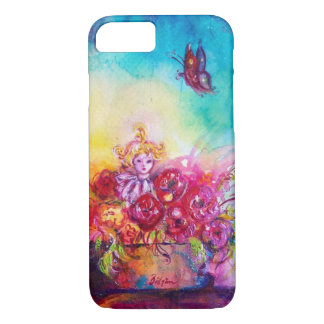 THUMBELINA ,FLOWER BASKET AND BUTTERFLY iPhone 8/7 CASE