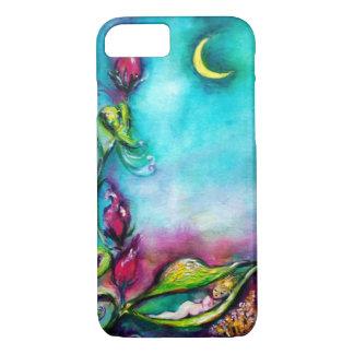 THUMBELINA SLEEPING BETWEEN ROSE LEAVES iPhone 7 CASE