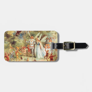 Thumbelina's Wedding in the Forest Travel Bag Tags