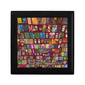 ThumbNAIL Collage - Artistic Vintage Collection Trinket Boxes