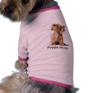thumbnail, Puppy music Pet Tshirt