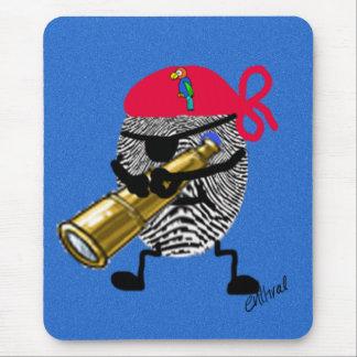 Thumbprint Pirate Mouse Mat