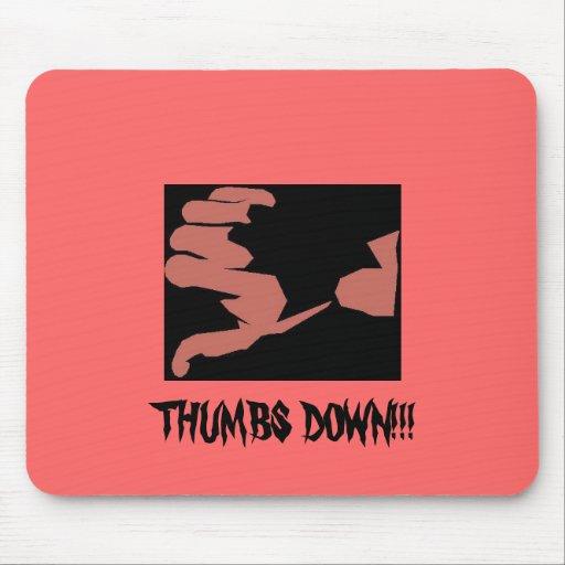 Thumbs Down Mousepad